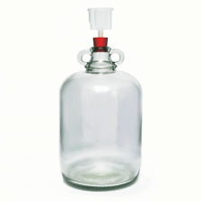 Glass Demi John Home Brew Wine Making 4.5 Litre / 1 Gallon With Airlock And Bung