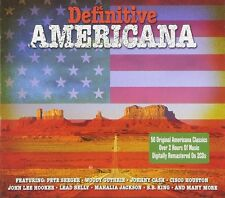 Définitive Americana-Josh white, Odetta, muddy waters - 2 CD NEUF