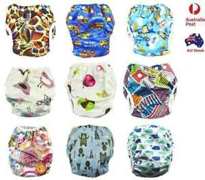 Reusable Swim Nappy Baby Cover Diaper Pants Nappies Swimmers Newborn to Toddler