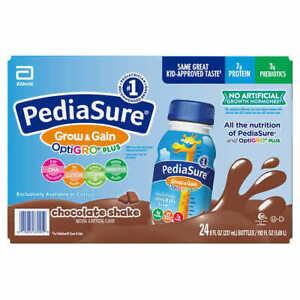 PediaSure OptiGRO Chocolade Kids Shake 8 fl oz., 24-count * FREE SHIPPING *