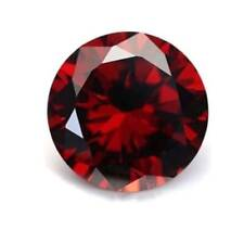 Pomegranate Red Sapphire 1mm/2mm/3mm/4mm/5mm each for 2Pc Round Cut AAAAA Gems