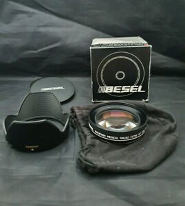 BESEL HD Medical Macro Close Up Lens 4x 58mm MACRO584 + Tamron Lens Hood