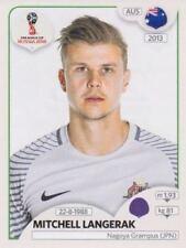 Panini Sticker Fußball WM 2018 Russia Nr. 215 Mitchell Langerak AUS Bild NEU