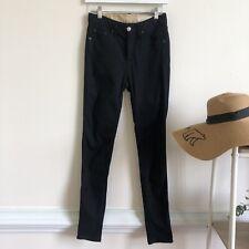 Rag & Bone black high rise skinny jean Size 26
