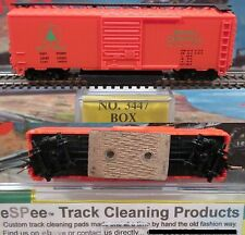 eSPee TRACK CLEANING BOX CAR - Model Power - MEC / Maine Central - N Scale MTL