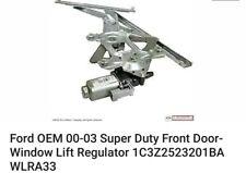 Ford OEM 00-03 Super Duty Front Door-Window Lift Regulator 1C3Z2523201BA WLRA33