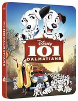 101 Dalmatians Limited Edition SteelBook [Blu-ray, Region Free, 1-Disc] NEW