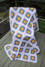 Beautiful handmade crochet blanket afghan