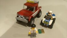 LEGO City# 4437 - Police Pursuit with manual. No box. Pre-owned