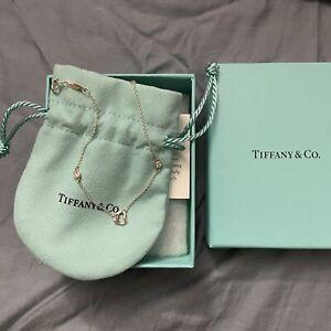 Tiffany Diamonds by the Yard Open Heart Bracelet