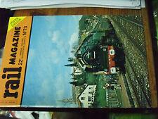 10µ Revue Rail Magazine n°73 230D Nord Brunig BB 13000