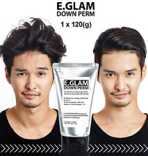 E.GLAM Down Perm Men Side Hair Mohican Style Self Speedy Easy Kit x 1pcs (120g)