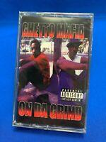 Ghetto Mafia - On Da Grind | Cassette Tape Album 1998 Hip Hop Gangsta Rap RARE