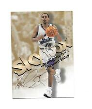 1998 Skybox Autographics Howard Eisley Autograph / Signed Card (B24) Utah Jazz