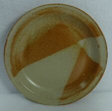 WHITE MOUNTAIN pottery WHITE TOP pattern Salad or Dessert Plate - 8""