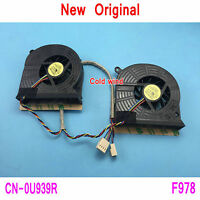 2pcs New Dell Inspiron One 19 Vostro 320 Cooling fan DFS601005M30T F978 U939R