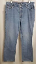 New listing Tommy Hilfiger Flag Logo Tapered Mom Jeans 35x33 (#R)