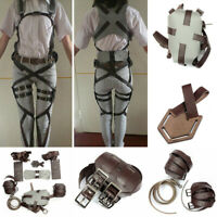 Cosplay Attack On Shingeki no Kyojin Adjustable Straps Harness Recon Belts