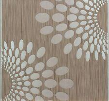 Tapete Vlies Retro braun grün Marburg Velvet Panels 56703 (2,99€/1qm)
