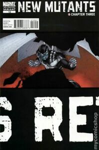 New Mutants #12E ROBERSON Variant 3rd Printing FN 2010 Stock Image