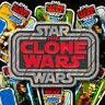 "STAR WARS ""The CLONE WARS"" Kenner Vintage Collection style toy logo patch Global"