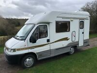 2002 AUTOCRUISE 2 BERTH LOW PROFILE MOTORHOME PEUGEOT BOXER 1.9 TD ONLY 32K