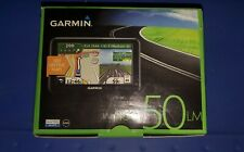"GARMIN NUVI 50LM 5"" GPS Bundle Lifetime Maps Charger & Mount"