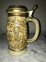 AVON COLLECTIBLE, THE GOLD RUSH STEIN, 1987, NUMBERED