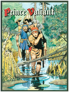 Prince Valiant Volume #8 FINE Italian Language Edition Color Comic Strip Reprint