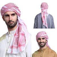 Men Muslim Islamic Long Hijab Caps Hats Head Scarf Wrap Shawl Headscarf HeadWrap