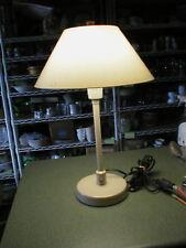 """Vintage Nightingale Adjustable Table Desk Lamp Fiberglass Shade  21"""" Tall Heavy"""