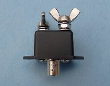 Compact Ctr Dipole Feed for Portable QRP Antenna w/ BNC Connector + Insulators