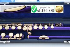 Flûte traversiere Violet Or 24 Ct Gold or Flute Traversiere Oro