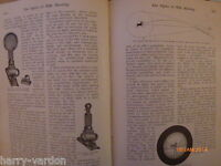 Optics Rifle Shooting Lyman sights Learning Golf 1907 Rare Old Antique Articles