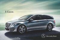 Mercedes R Klasse Prospekt 12/12 11.07.12 brochure 2012 Autoprospekt Broschüre