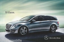 Mercedes clase R folleto 11.07.12 brochure 2012 auto automóviles Alemania 12/12