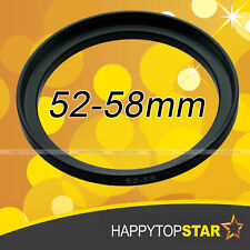52mm to 58mm 52-58 mm Male to Female Step-Up Lens Filter coupling Ring Adaptor