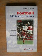 DUMONT Football 200 Jeux à Thèmes