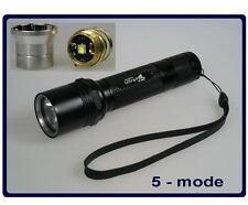 Ultrafire WF-504B with CREE XM-L2 U2 emitter 5-mode flashlight #282