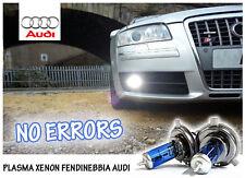 LAMPADINE H7 PLASMA XENON BIANCO FENDINEBBIA - AUDI A3 (SERIE 8L)- NO ERROR!
