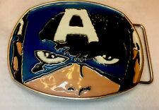 Captain America Superhero Marvel Comics Avengers Metal Belt Buckle