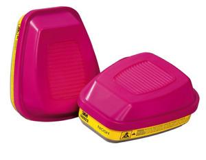 3M 60923HB1-C Respirator Cartridge Replacement, Pink