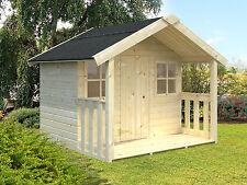 Kinderhaus FELIX TÜV geprüft Kinderspielhaus Gartenhaus Kinderhäuser Holz