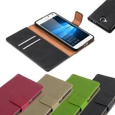Case for Nokia Lumia 650 Phone Cover Luxury Protective Wallet Book