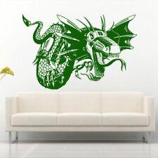 Wall Decal Sticker Vinyl Bedroom Dragon Animal Reptile Film Lizard Machine M909