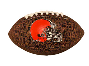 """Rawlings Cleveland Browns Air It Out 9"""" Mini Football Free Shipping"""