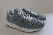 Puma Trinomic R698 NC Women's Gray Retro Printed Casual Sneaker Shoe Size 7 M