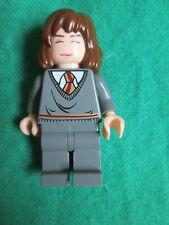 HERMIONE - SLEEPING AWAKE FACE - HARRY POTTER LEGO MINIFIGURE - SET 4762