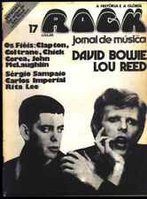 David Bowie - Rock Magazine Brazil 1975