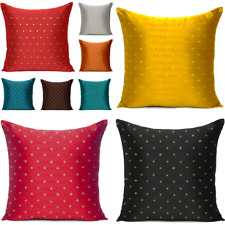 Vintage Home Decor Art Silk Pillow Case Sofa Waist Christmas Throw Cushion Cover